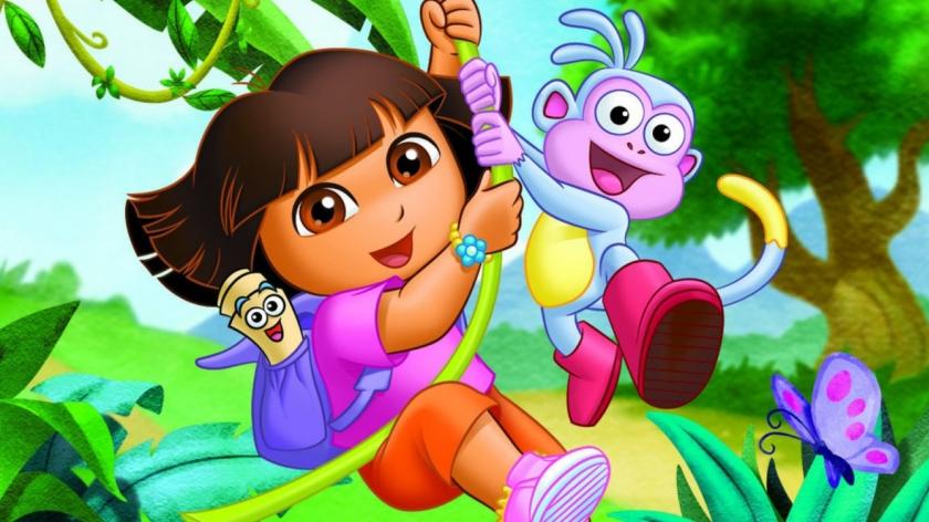 Dora the Explorer Courtesy of Nickelodeon