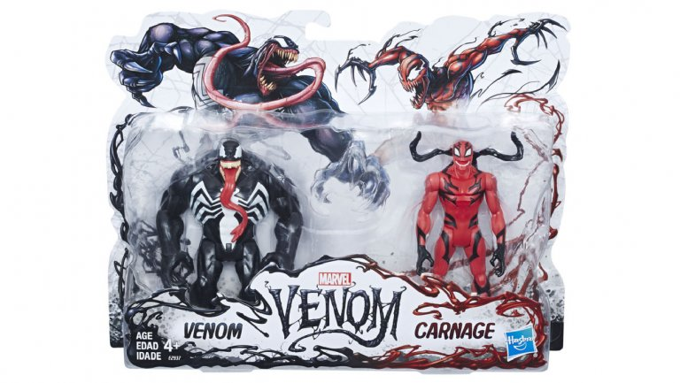 Marvel Venom 2-Pack Toys Courtesy of Hasbro