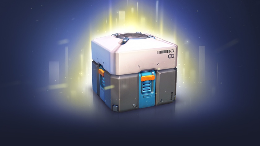 Overwatch Loot Box Courtesy of Blizzard