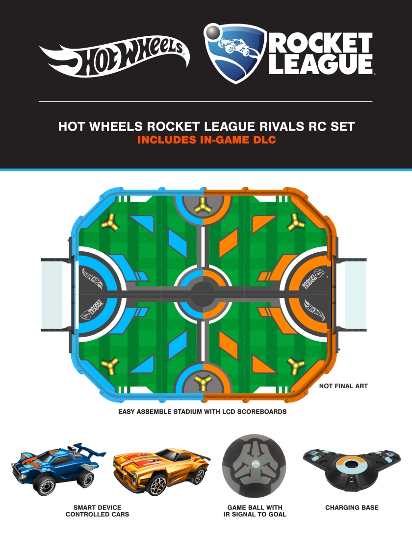 Exclusive RL HW Car Unlock Flyer-printout