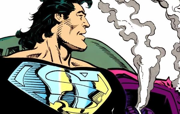 Black Suit Superman Courtesy of DC