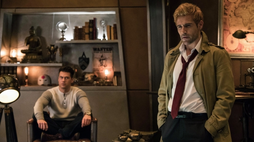 Matt Ryan's John Constantine on Legends of Tomorrow on The CW