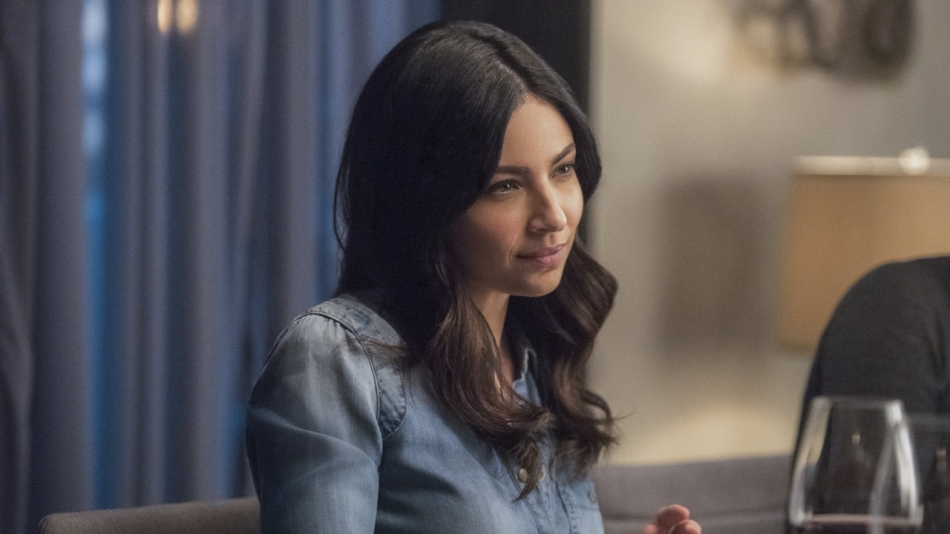Floriana Lima's Maggie Sawyer on Supergirl Courtesy of The CW