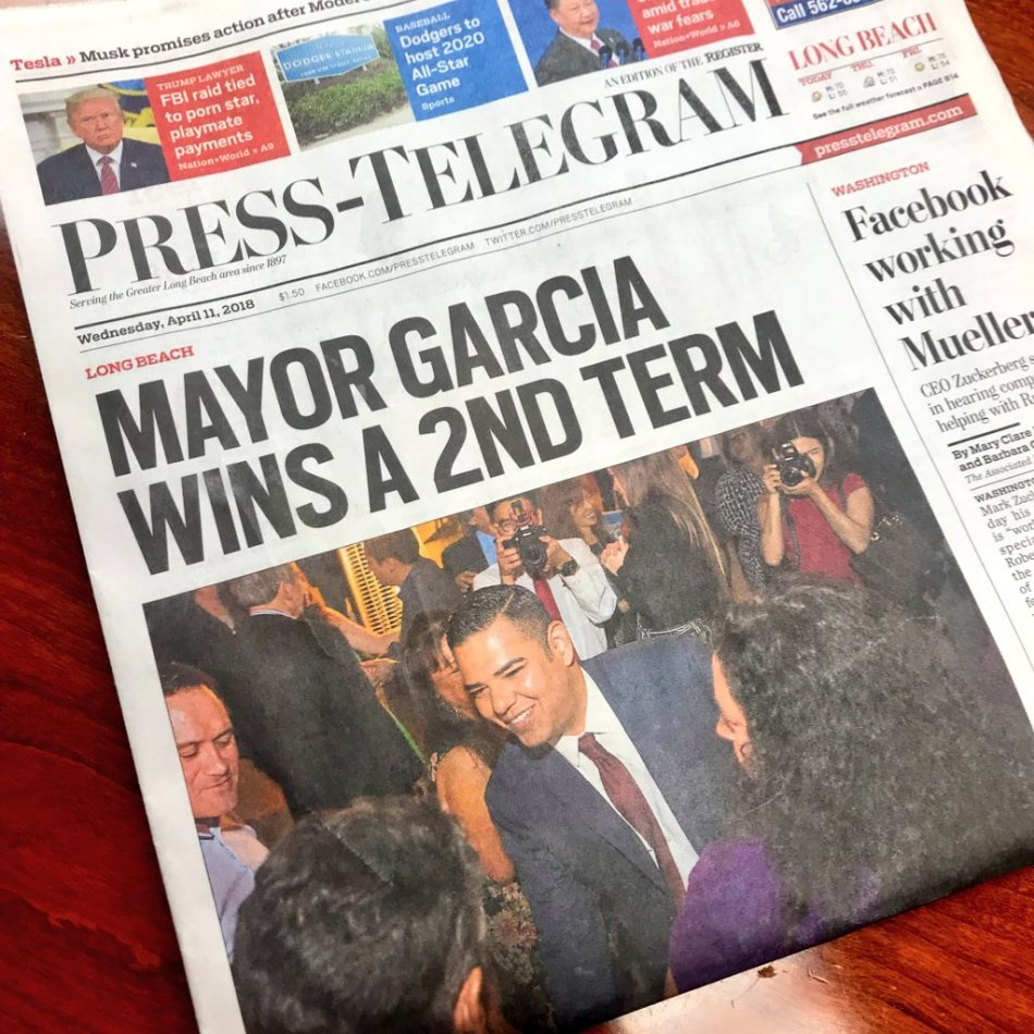 Garcia front page