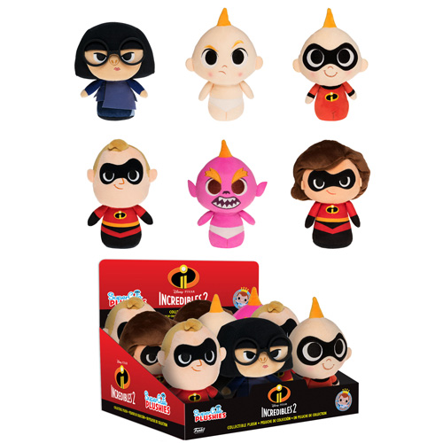 Incredibles 2 SuperCute Plushies Courtesy of Funko