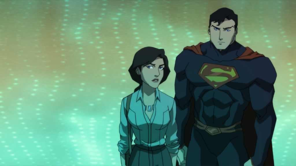 Lois and Superman in The Death of Superman Courtesy of WB