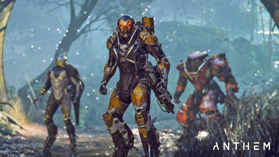 BioWare's Anthem Courtesy of EA