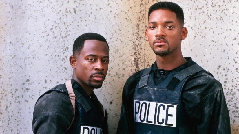 Martin Lawrence and Will Smith in Bad Boys Courtesy of Sony