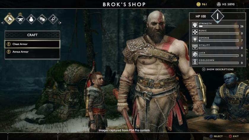 Brok's Shop in God of War