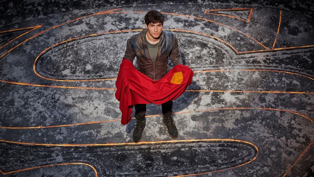 Cameron Cuffe's Seg-El on Krypton Courtesy of Syfy