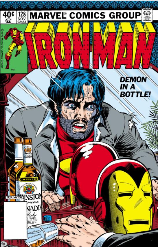 demon in a bottle marvel database