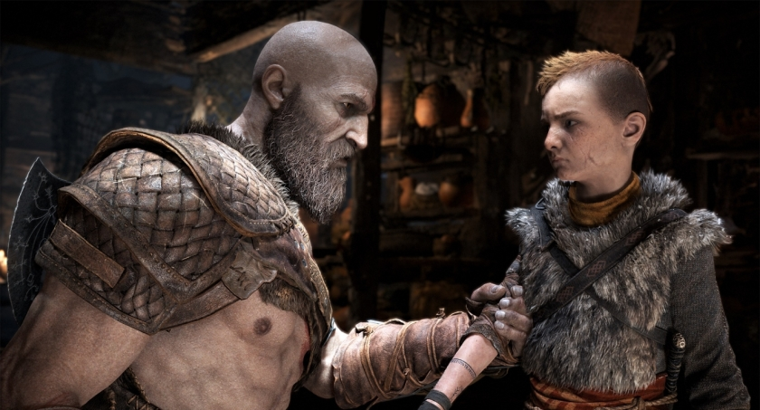 Kratos and Atreus Courtesy of PlayStation
