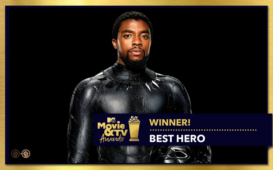 Chadwick Boseman_Black Panther_Best Hero