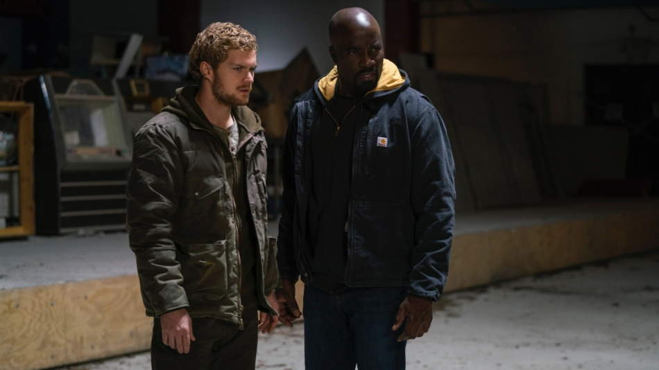 Danny Rand and Luke Cage in The Defenders Courtesy of Netflix/Marvel