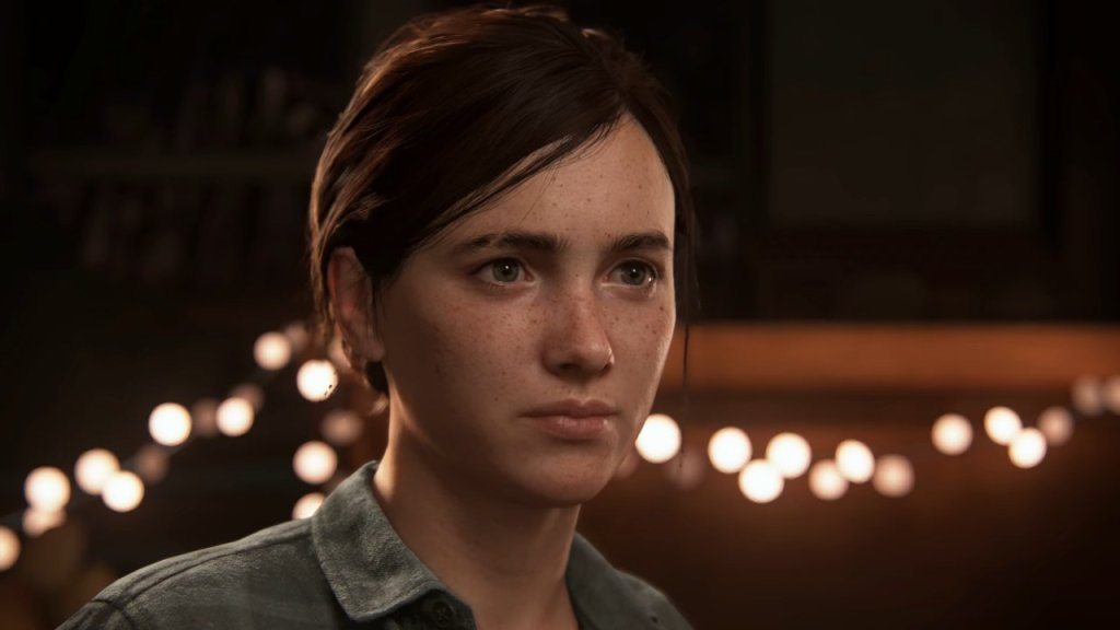 Ellie in The Last of Us Part II Courtesy of SIE