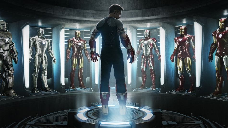 Image result for tony stark with iron man suit