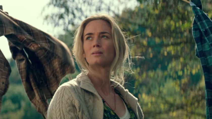 Emily Blunt in A Quiet Place Courtesy of Paramount Pictures