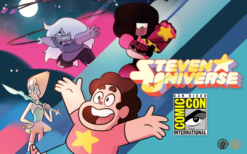 steven universe the movie is coming to cartoon network sdcc2018