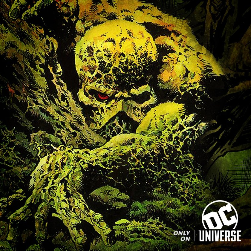 Swamp Thing Key Art Courtesy of DC