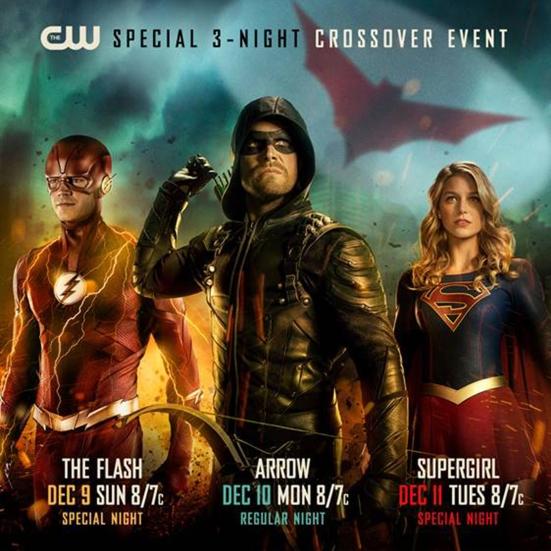 Arrow CrossoverCredit: The CW