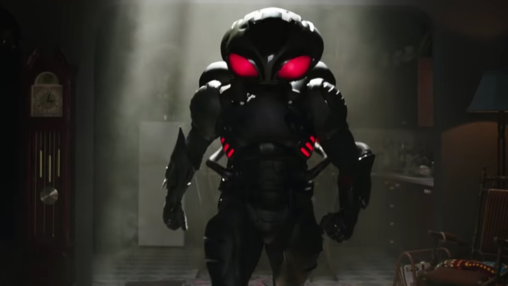 Yahya Abdul-Mateen II's Black Manta in Aquaman Courtesy of Warner Bros.
