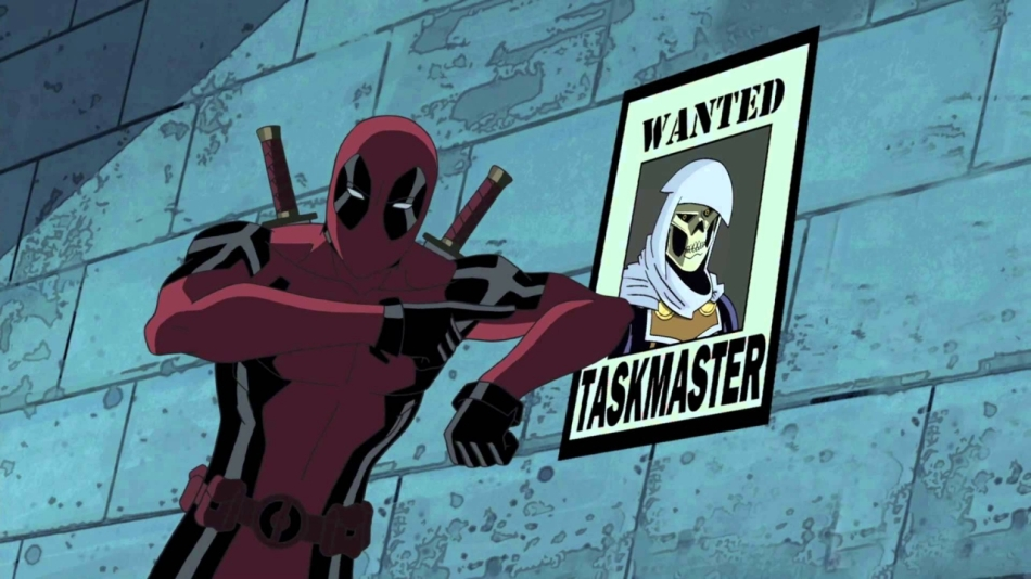 Deadpool in Ultimate Spider-Man Courtesy of Walt Disney Co.
