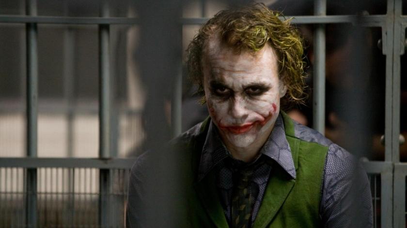 Heath Ledger's Joker in The Dark Knight Courtesy of Warner Bros.