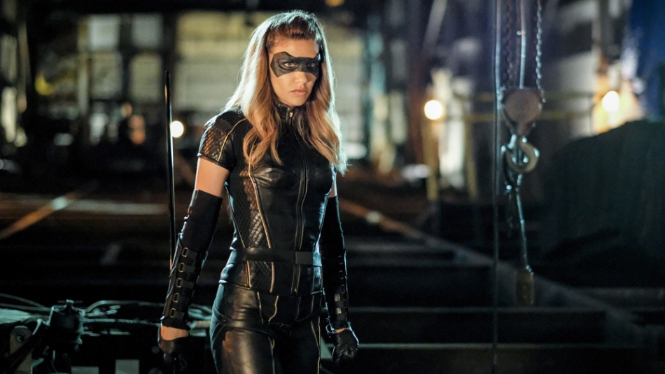 Juliana Harkavy's Black Canary on Arrow Courtesy of The CW