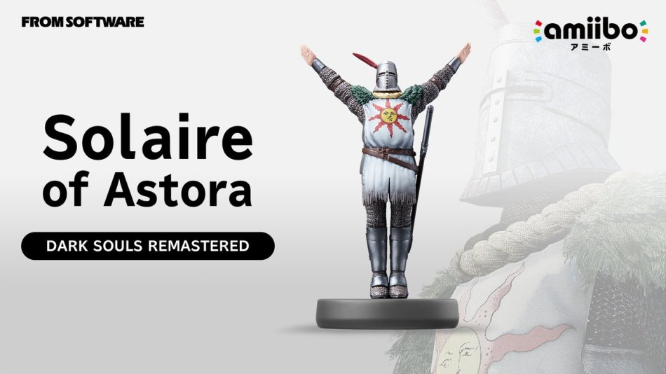 Solaire of Astora Courtesy of Bandai Namco/Nintendo