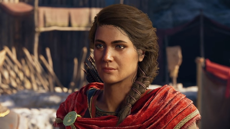 Kassandra in Assassin's Creed Odyssey Courtesy of Ubisoft