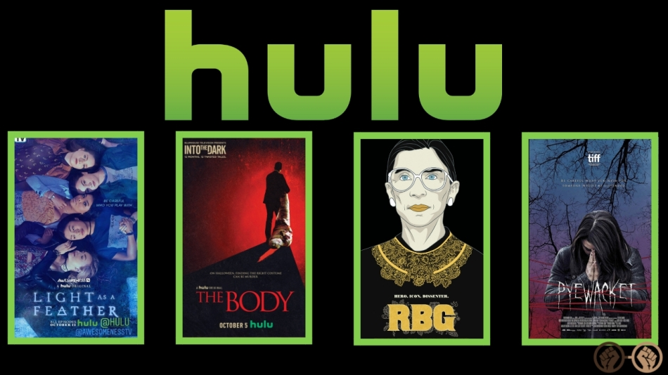 Everything Coming and Leaving Hulu October 2018 – GEEKS OF COLOR