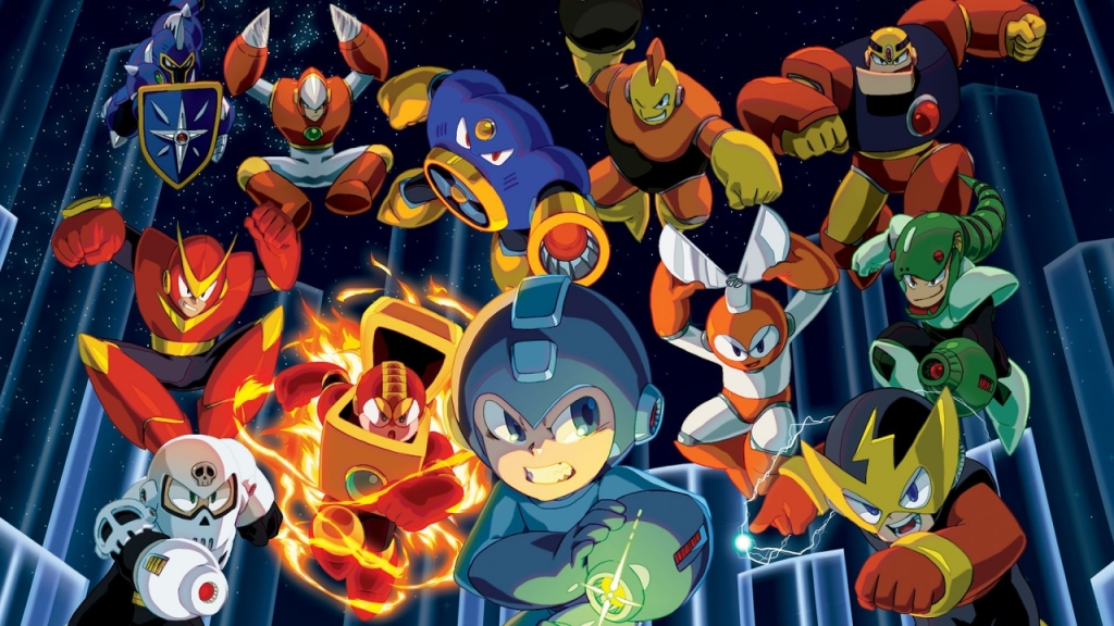 Mega Man Courtesy of Capcom