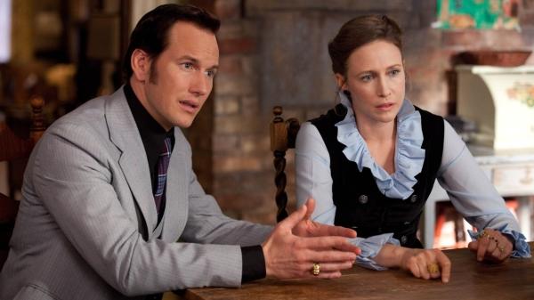 Patrick Wilson and Vera Farmiga in The Conjuring